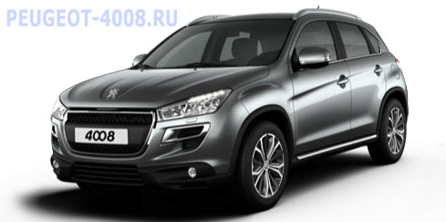 Peugeot 4008 Gris Titanium Серый