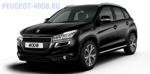 Peugeot 4008 Noir Perle Черный