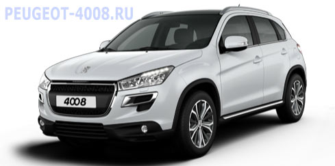 Peugeot 4008 White Pearl Белый
