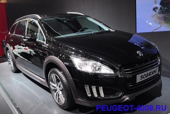 Peugeot 508 rxh на Пекинском автосалоне