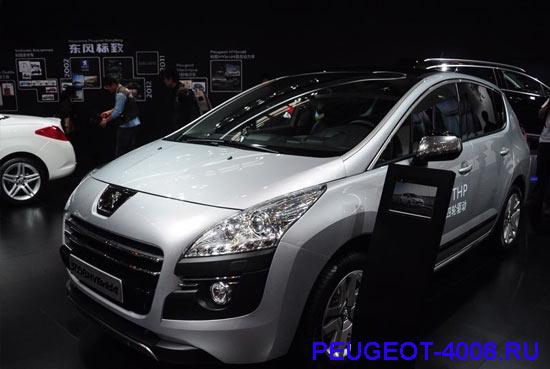 Peugeot 3008 гибрид на Пекинском автосалоне