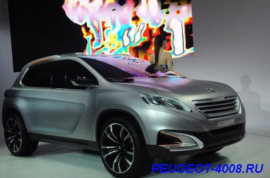 Peugeot Urban Concept на Пекинском автосалоне