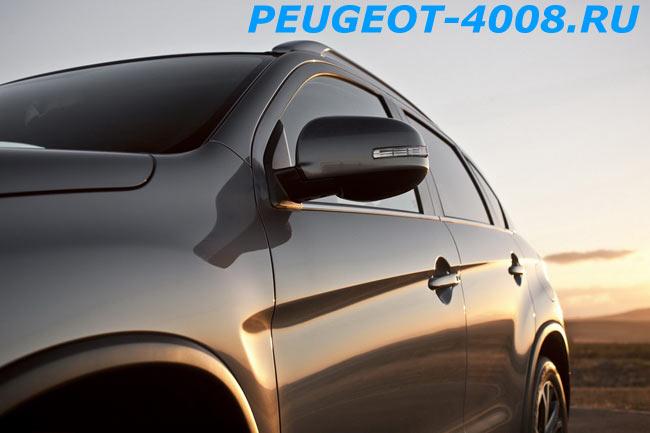 Боковые зеркала с повторителями Peugeot 4008
