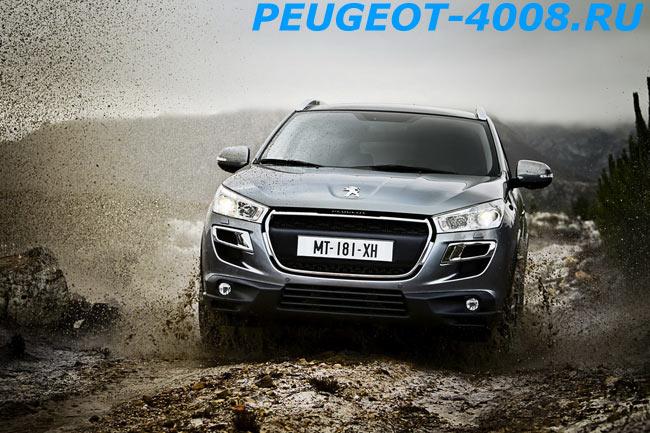 Бездорожье Peugeot 4008