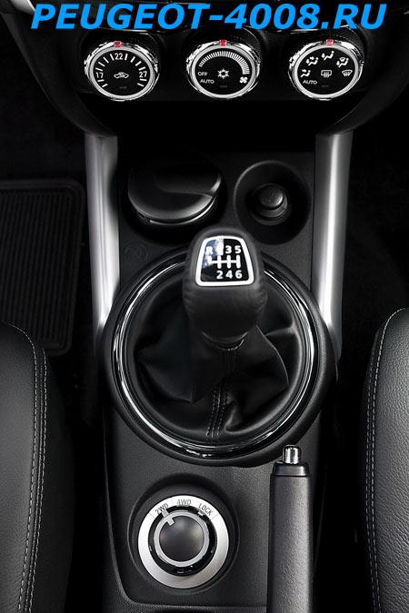 КПП Peugeot 4008